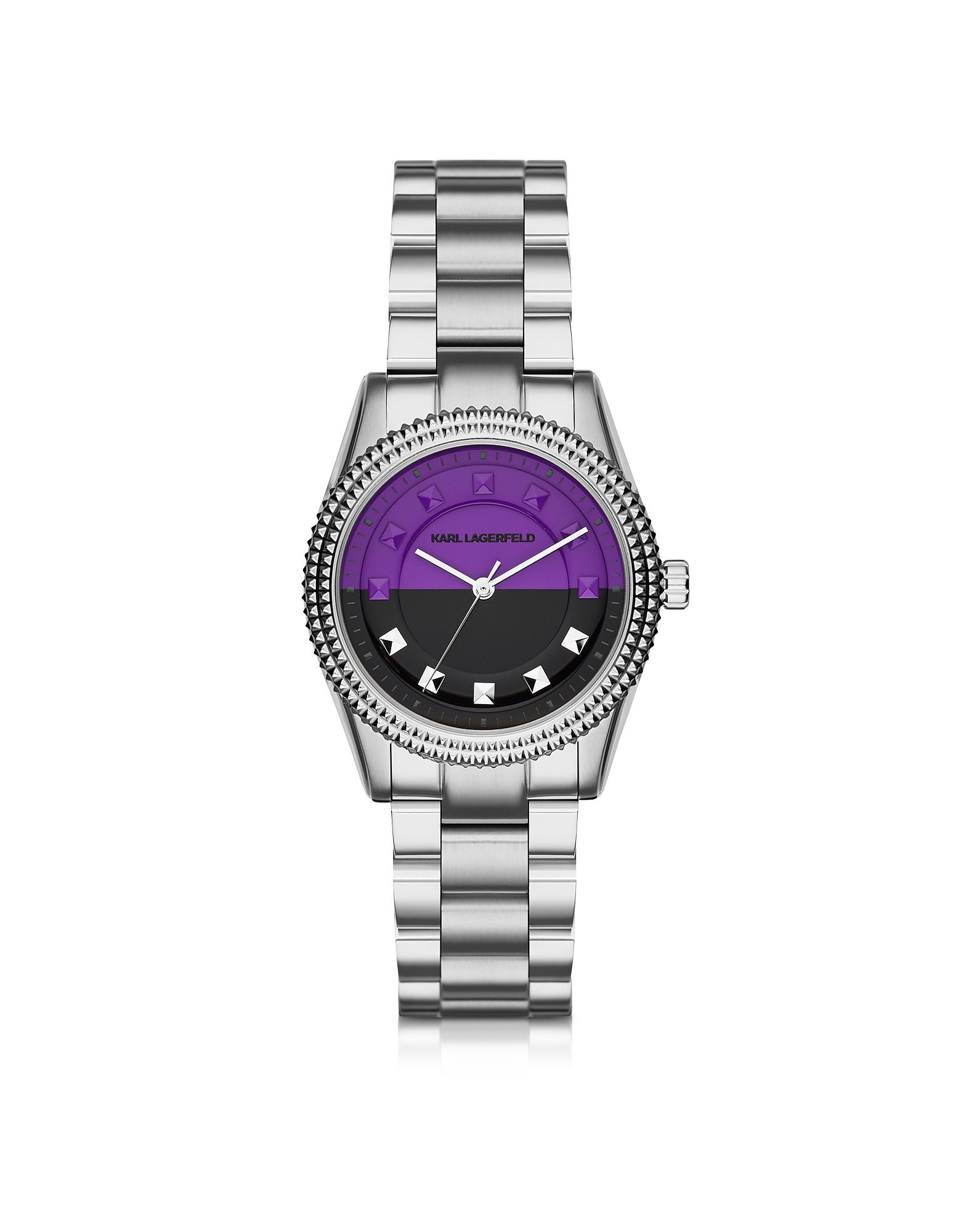 Petite Stud - Серебристые Женские Часы из Нержавеющей Стали