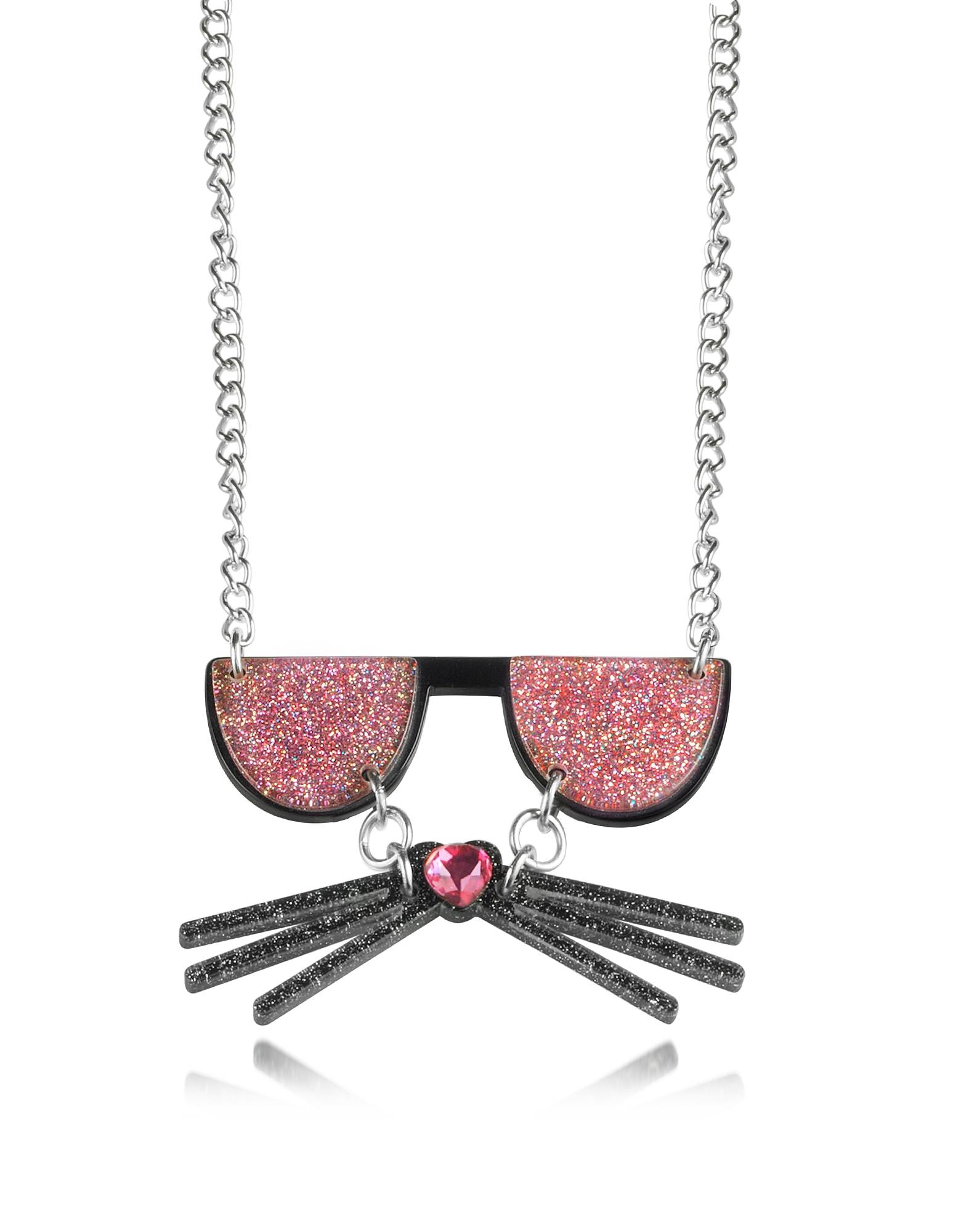 Karl Lagerfeld Necklaces, K/Kocktail Necklace w/Glitter Effect