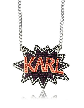 K/Pop Glitter Necklace