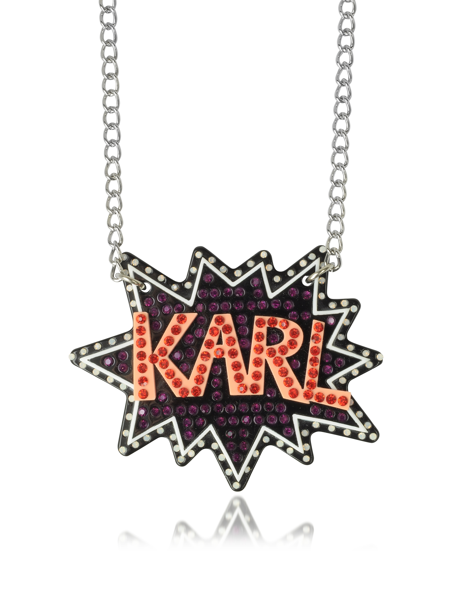 Karl Lagerfeld K/Pop Блестящее Ожерелье