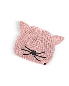 Pink Choupette Knit Hat - Karl Lagerfeld