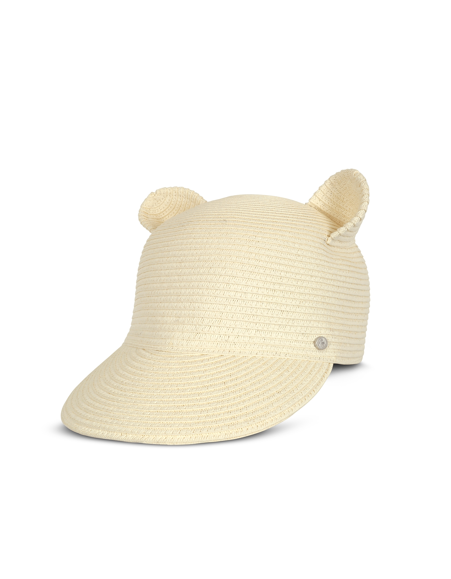 Natural Cat Ears Straw Cap от Forzieri.com INT