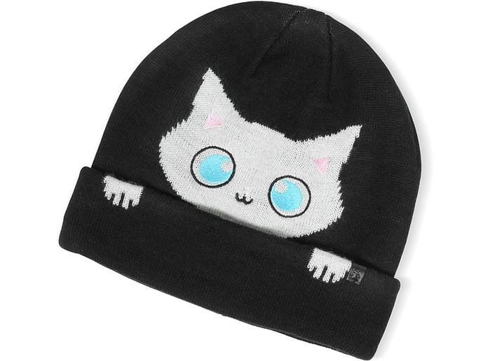 Peek a Boo Cat Women's Beanie Hat - Karl Lagerfeld