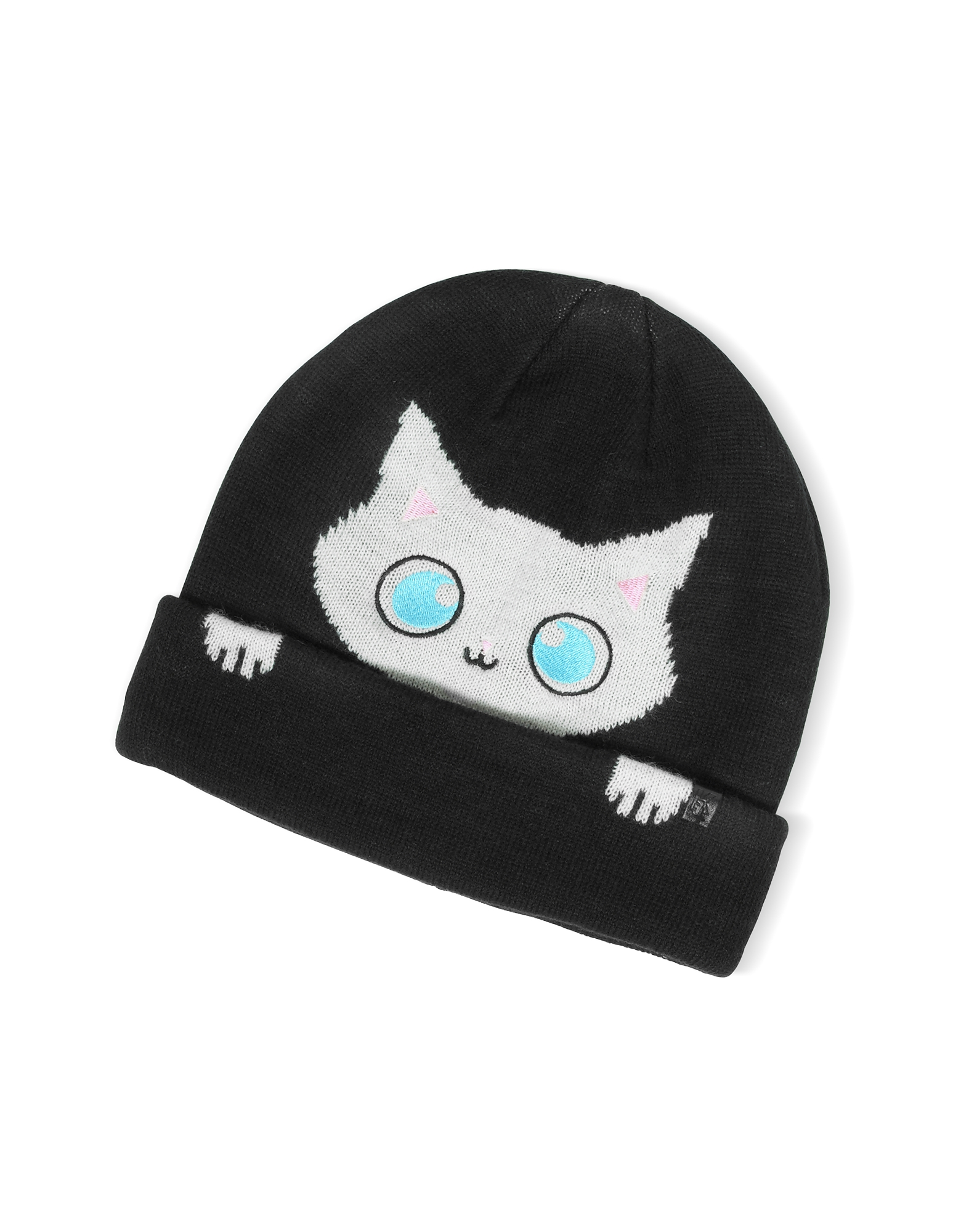 Peek a Boo Cat Women's Beanie Hat от Forzieri.com INT