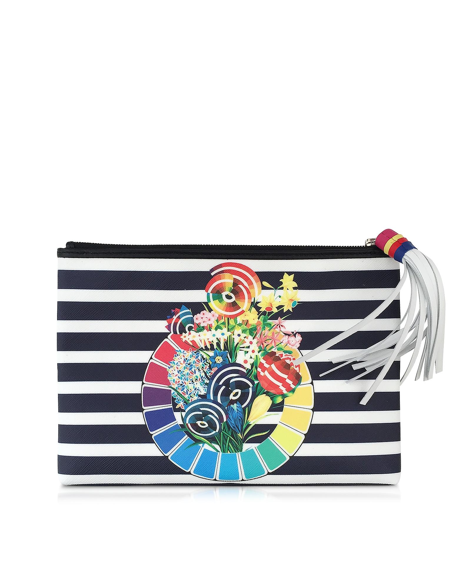 Sailor - Сумочка из Ткани с Цветным Колесом