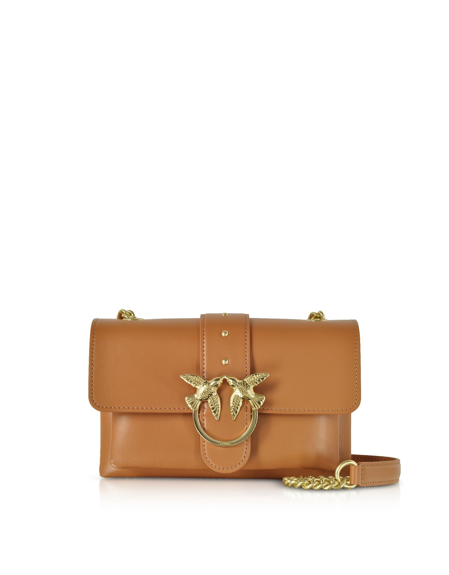 Pinko Handbags, Mini Love Soft Shoulder Bag