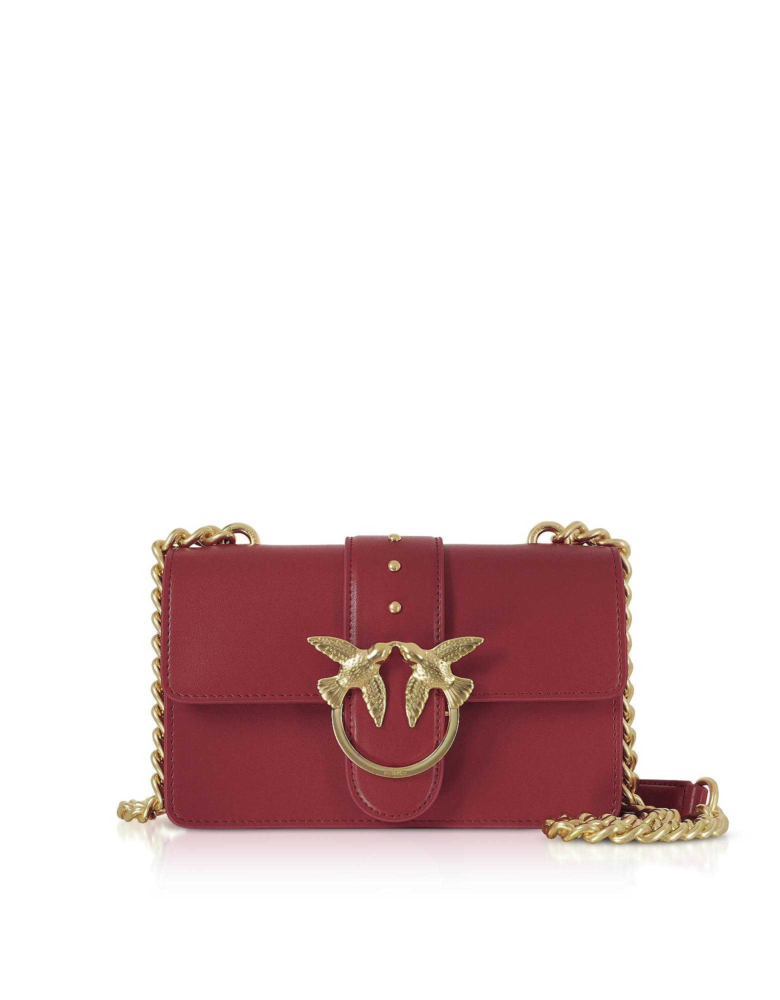 Pinko Designer Handbags, Mini Love Crossbody Bag