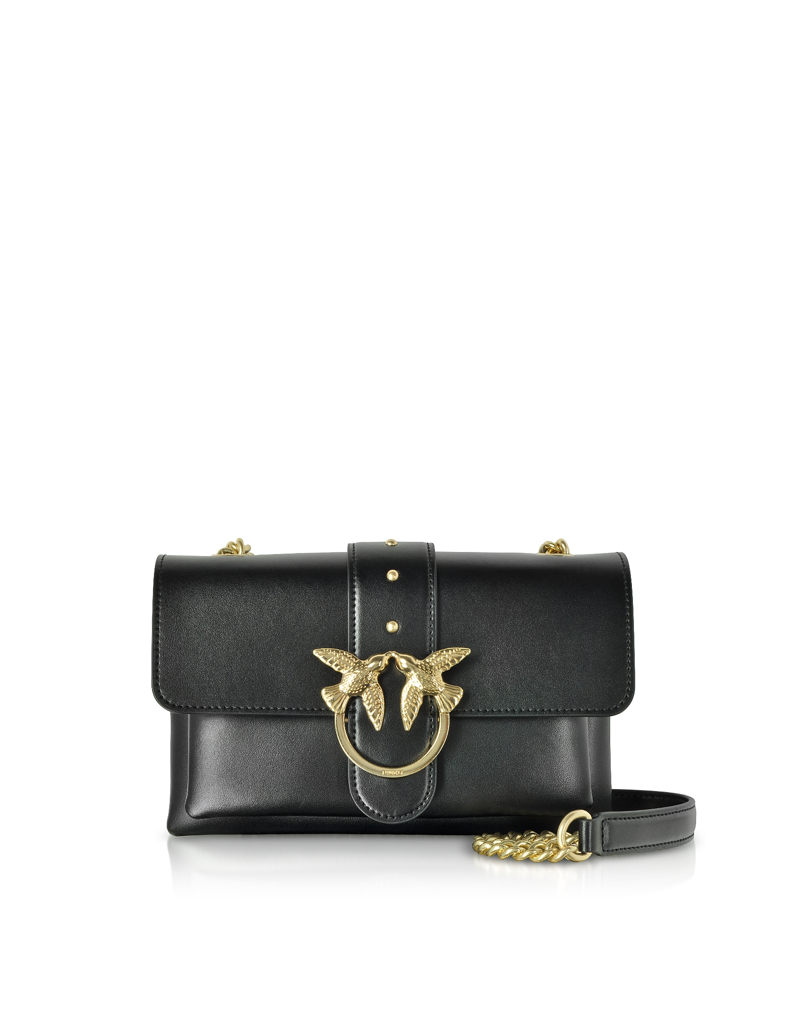 Pinko Designer Handbags, Mini Love Soft Shoulder Bag