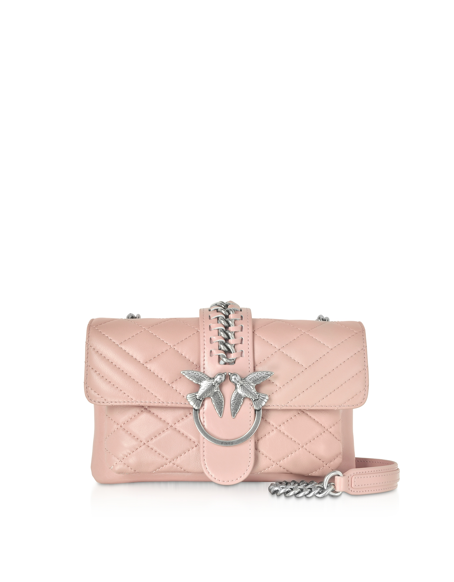 Pinko Designer Handbags, Mini Love Soft Mix Crossbody Bag