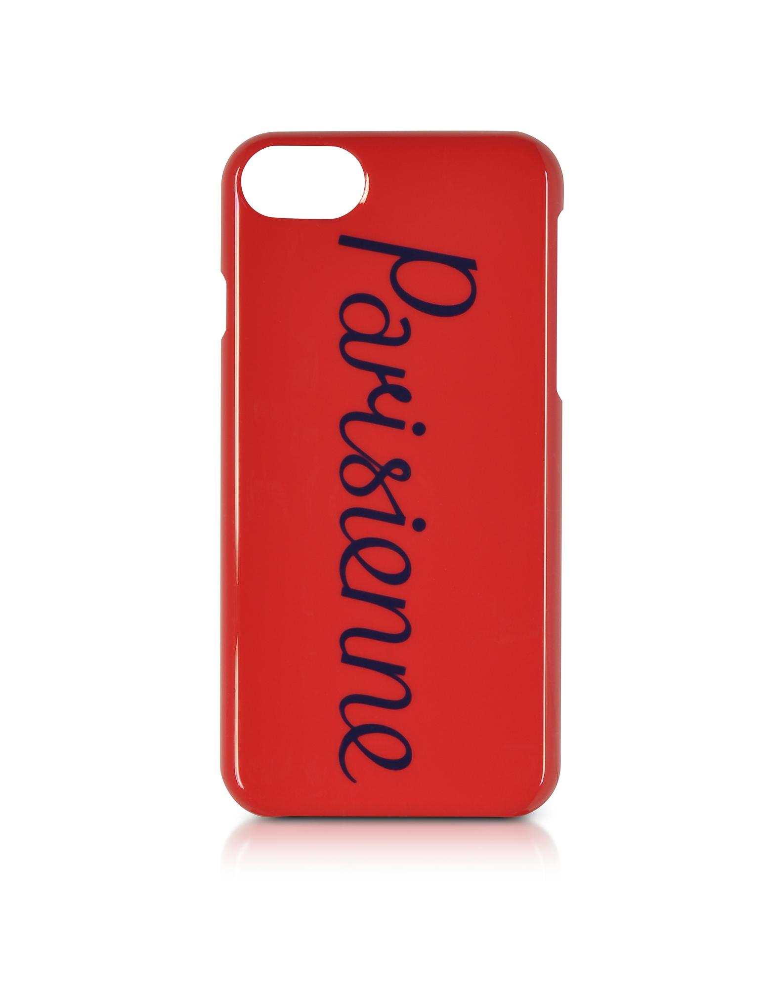 Parisien Custodia per iPhone 7/8 Rossa