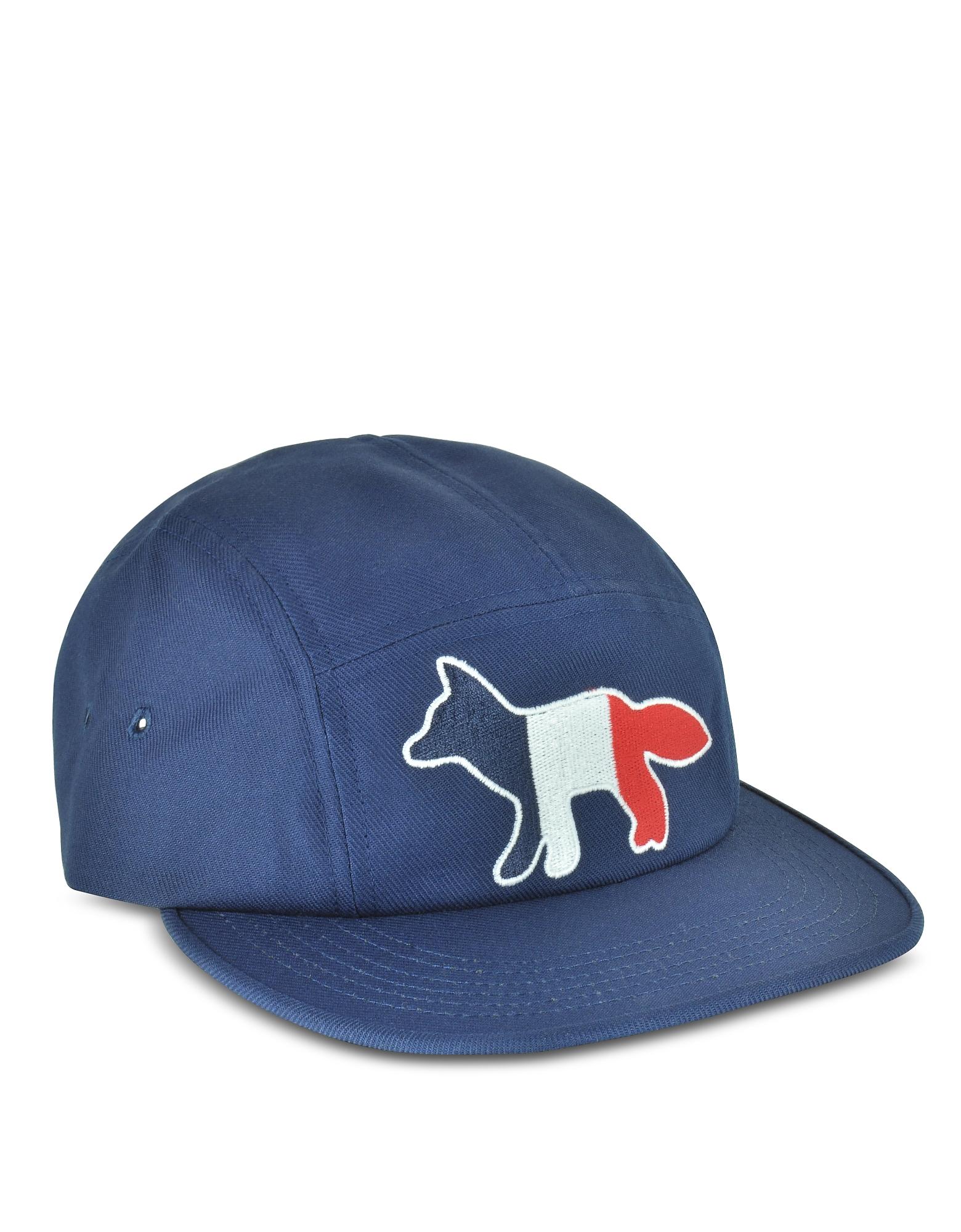 Tricolor Fox - Темно-синяя Бейсболка