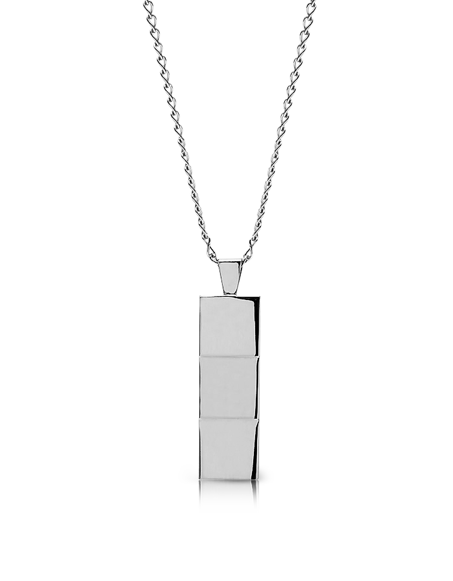 Northskull Designer Men's Necklaces, Layers Necklace Silver