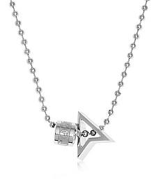 Silver North Halskette mit Anhänger - Northskull