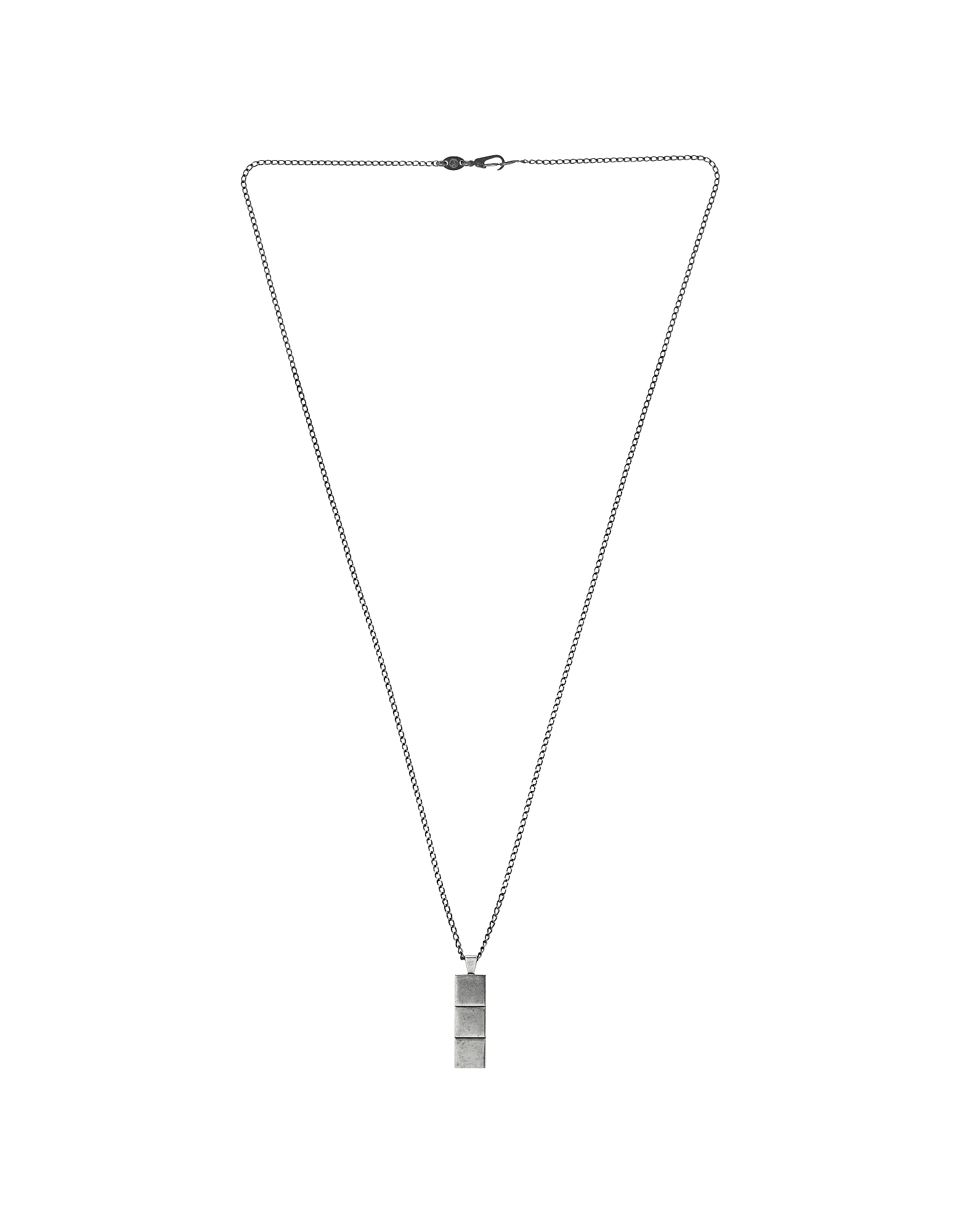 Layers Aged Silver Necklace от Forzieri.com INT