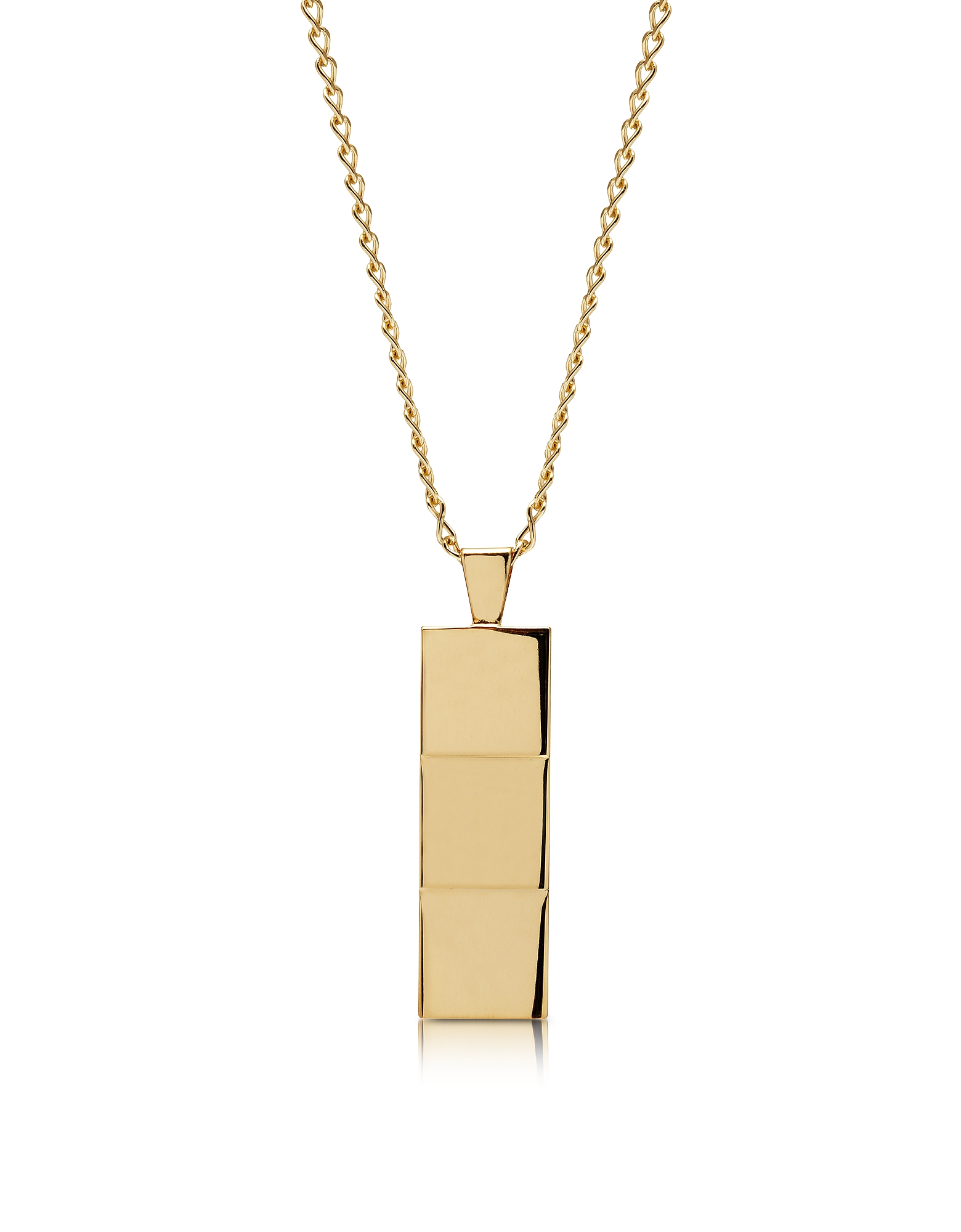 Northskull Designer Men's Necklaces, Layers Gold-tone Necklace