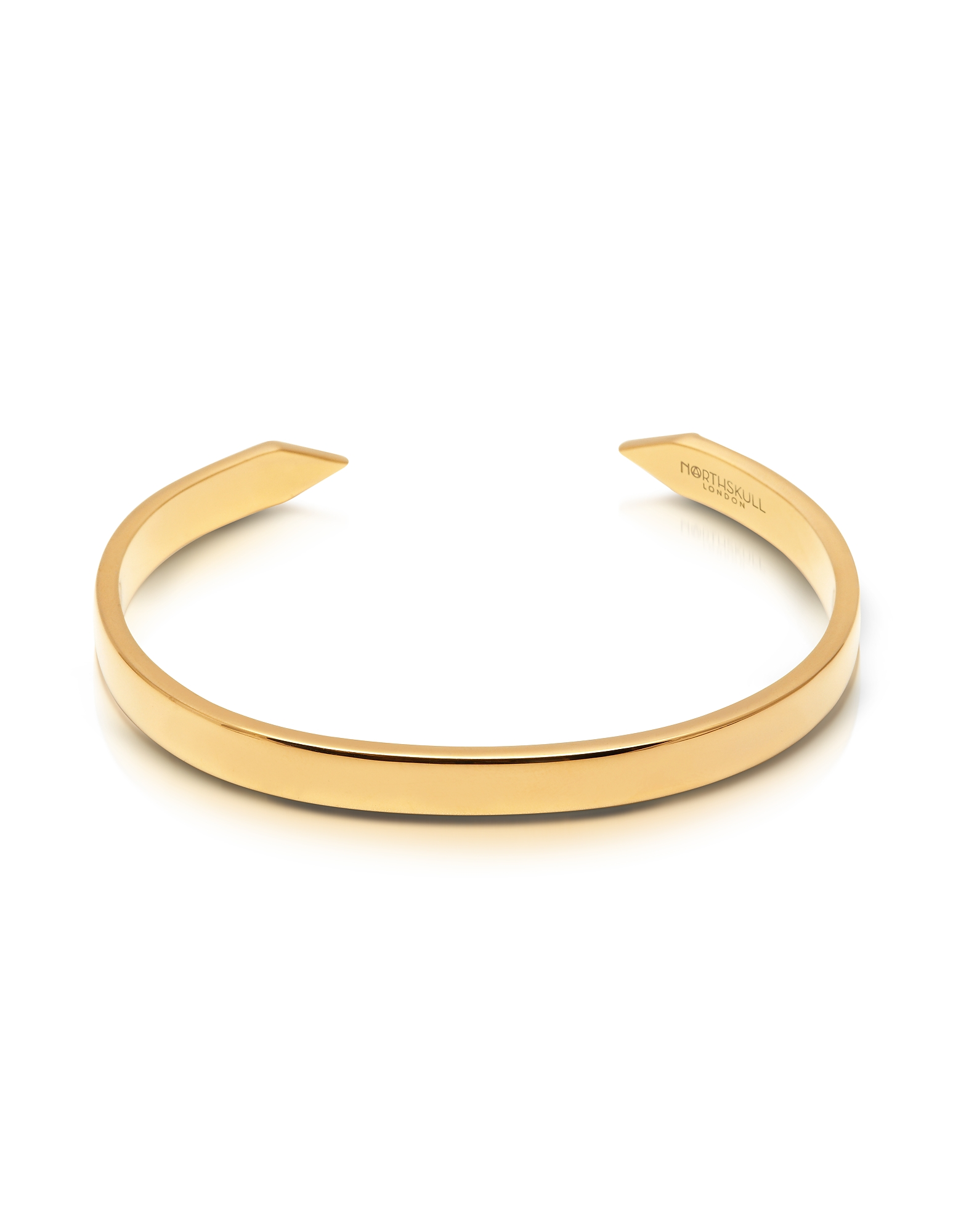 The End Gold Plated Brass Men's Cuff от Forzieri INT
