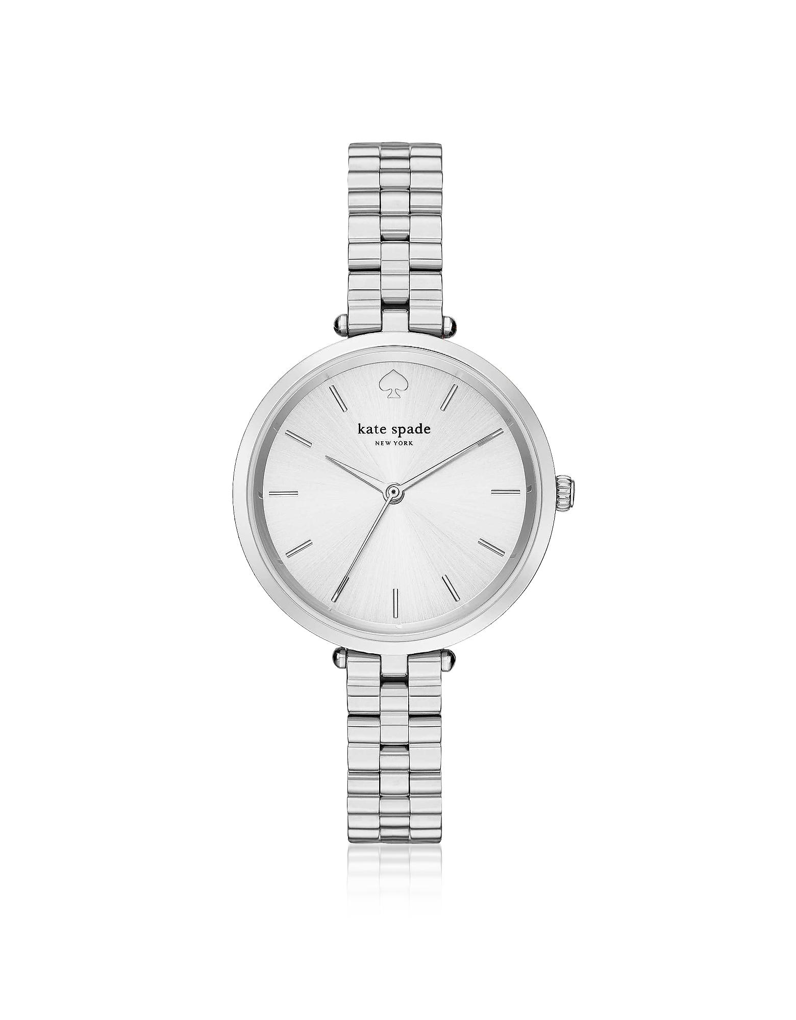 Kate Spade New York Women's Watches, Holland Skinny Silver Tone Bracelet Watch