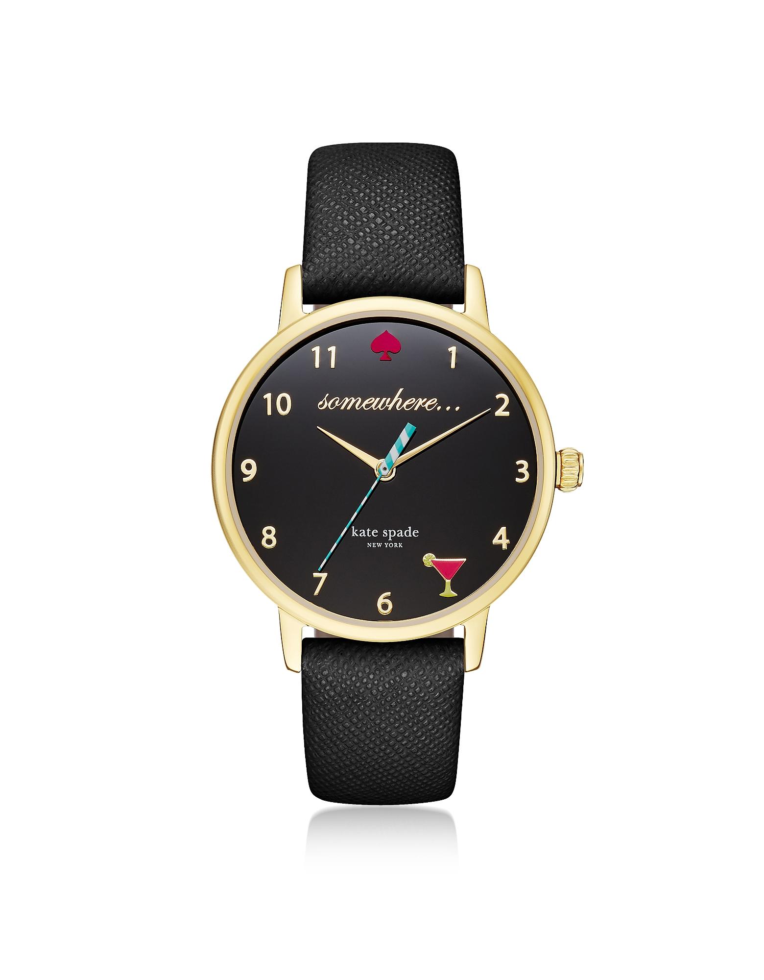 Женские Часы 5 O'Clock Black Metro Kate Spade New York