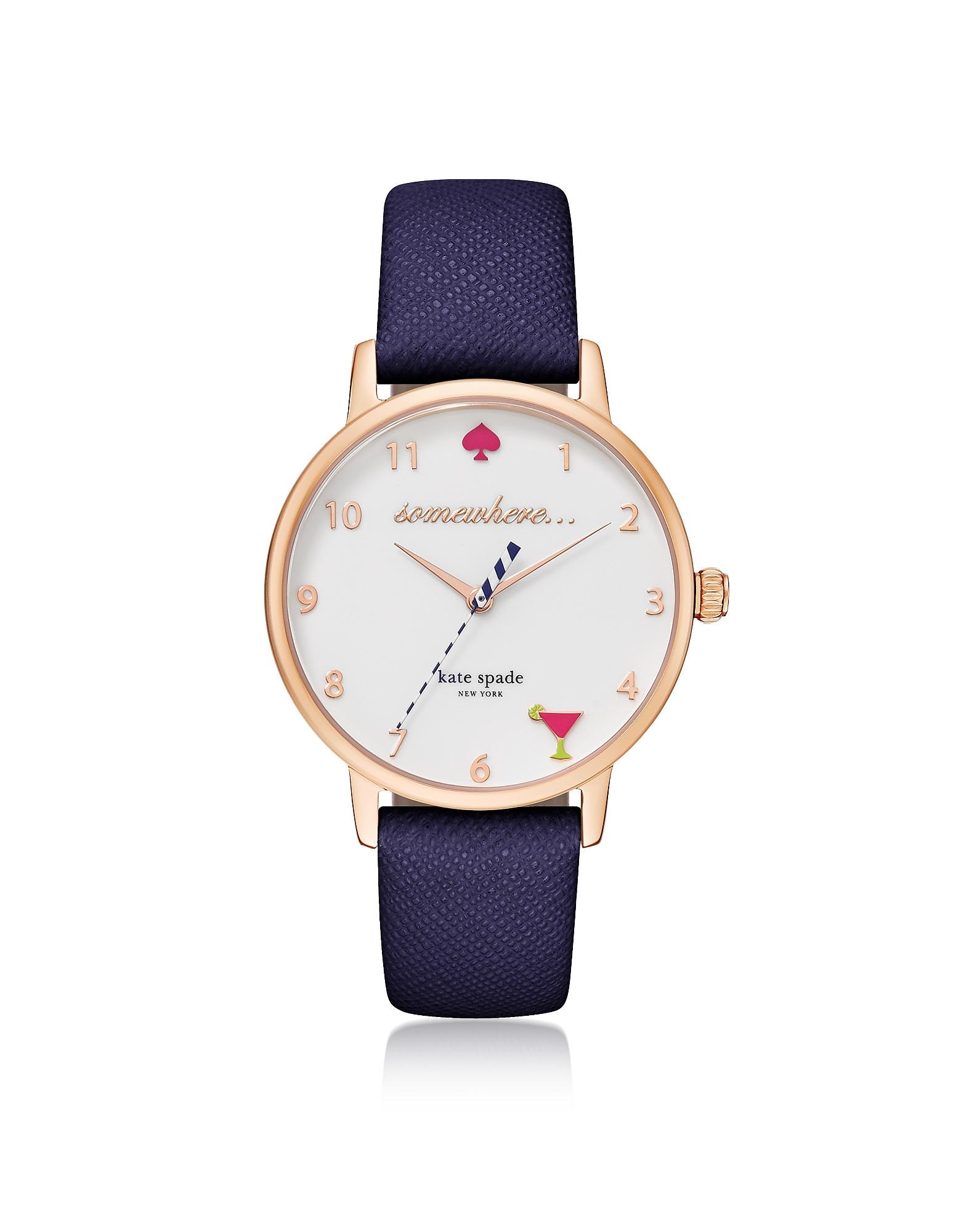5 O'Clock Blue Metro Women's Watch
