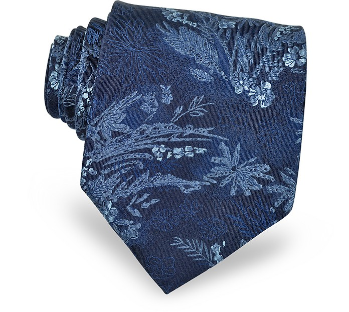 Floral Silk Tie - Kenzo
