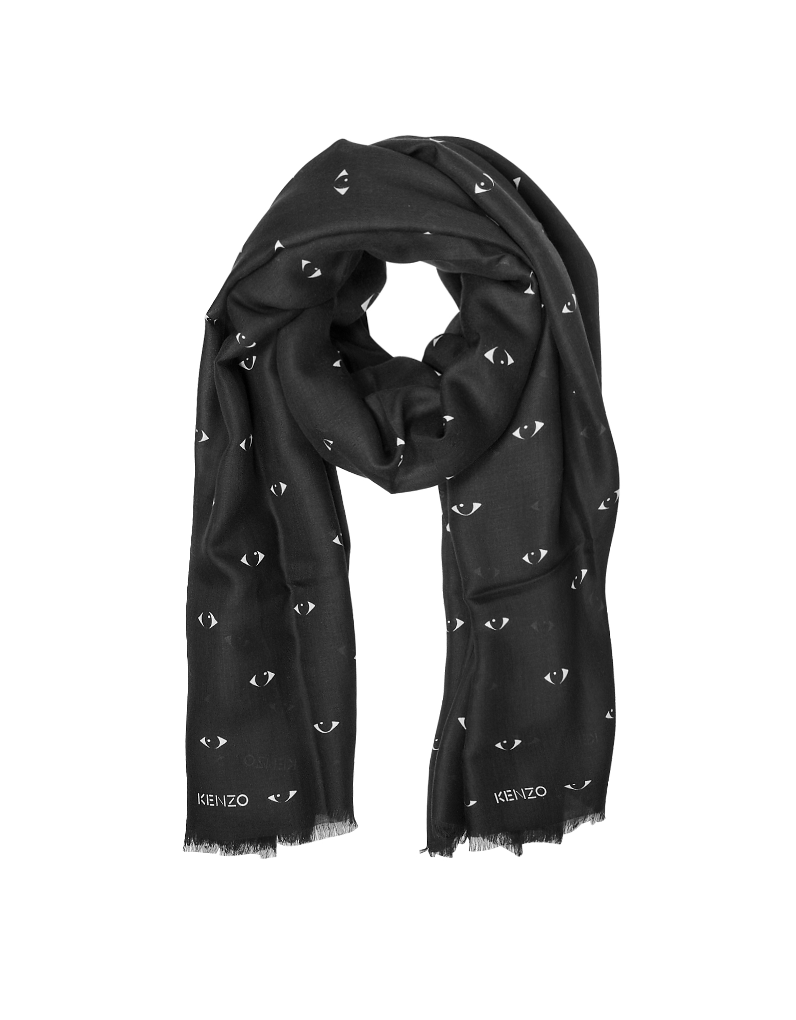 All Over Eye Printed Scarf от Forzieri.com INT