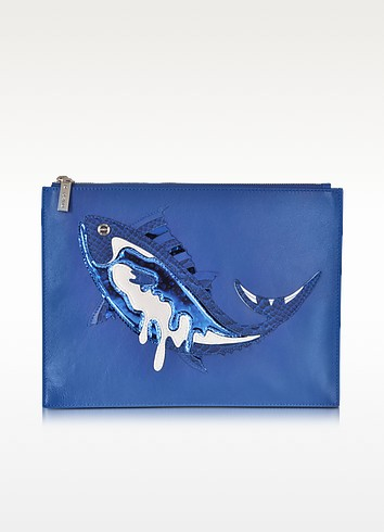 Fish Leather Pouch - Kenzo