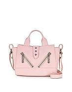 Kenzo Mini Kalifornia Bag in Pelle Gommato Rosa Pastello - kenzo - it.forzieri.com