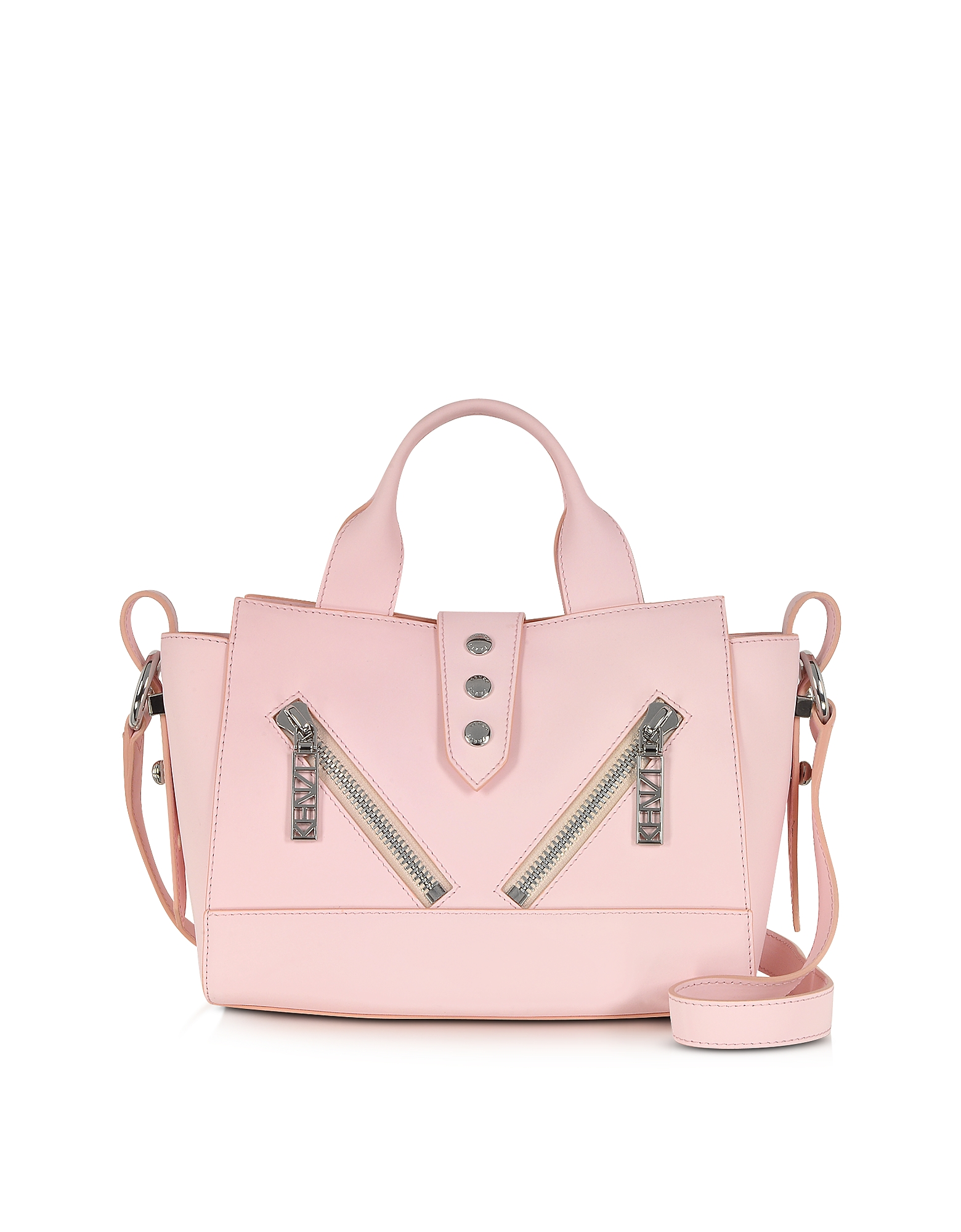Kenzo Mini Kalifornia - Розовая Сумка из Кожи Gommato