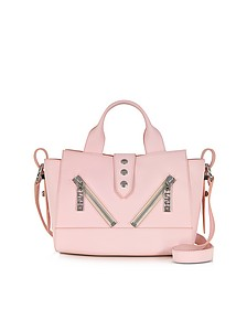Mini Kalifornia Rose Gommato Leather Handbag - Kenzo