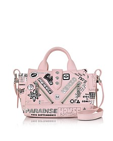 Pink Leather Mini Kalifornia x Flyers - Kenzo