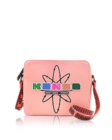 Coral Pink Leather Nasa Camera Bag - Kenzo