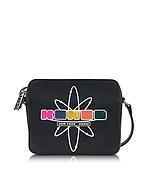 Kenzo Nasa Camera Bag Borsa Nera con Tracolla e Logo Gommato - kenzo - it.forzieri.com