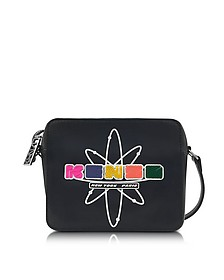 Black Leather Nasa Camera Bag - Kenzo