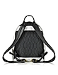 Metallic Denim Black and Leather Kombo Backpack - Kenzo