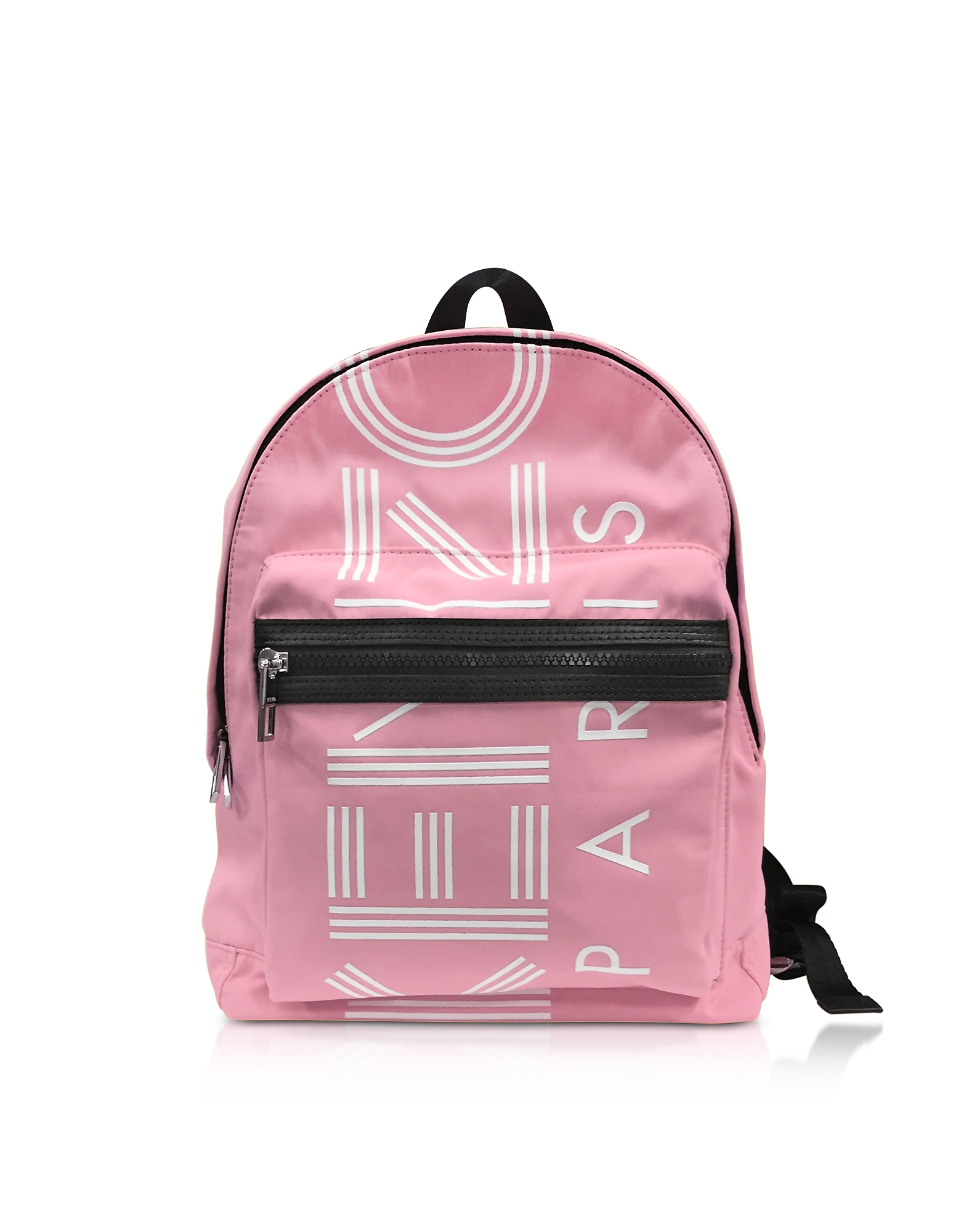 Kenzo Handbags, Flamingo Pink Nylon Medium Kenzo Sport Backpack
