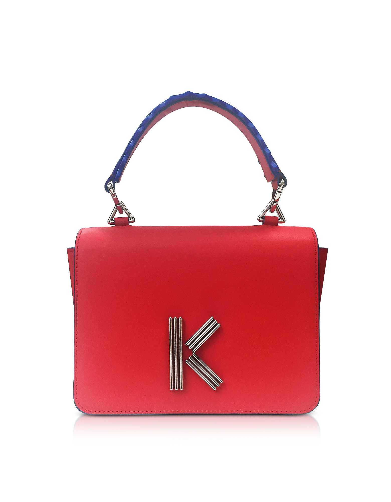 Red Leather K-Bag. Kenzo collection.