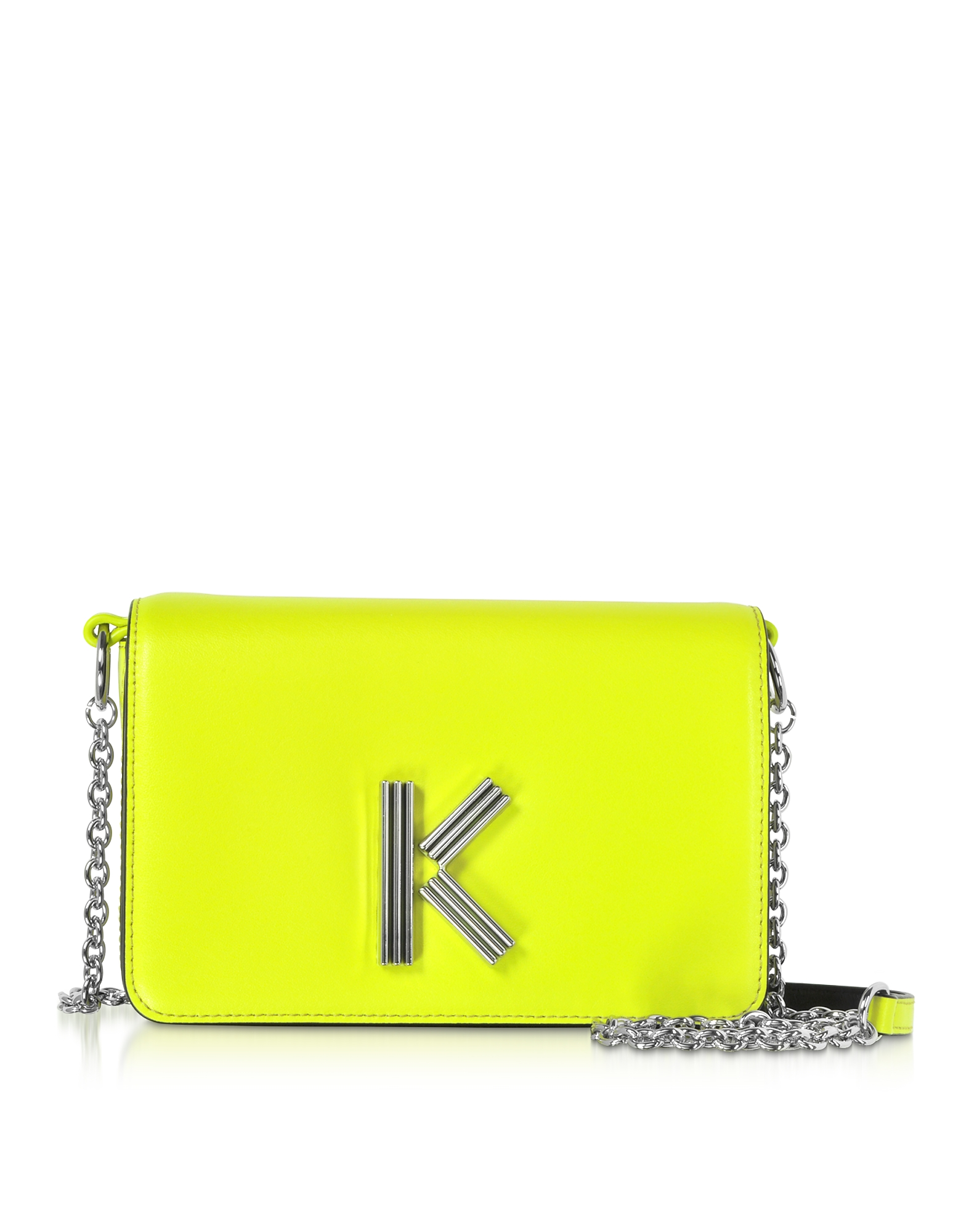 Citron Leather K-Bag Chainy bag