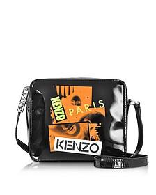 Kenzo Paris Black Patent leather Crossbody Bag - Kenzo