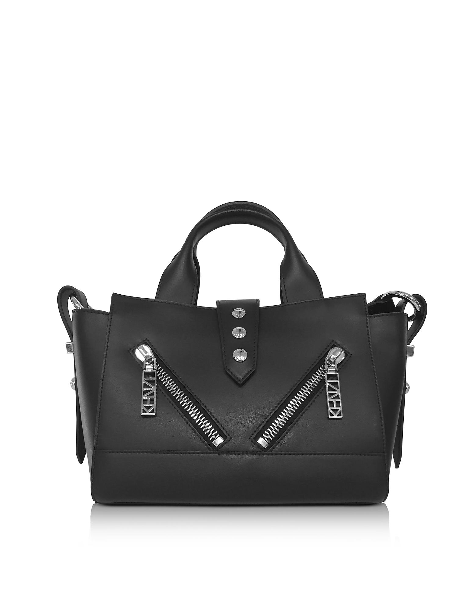 Kenzo Handbags, Mini Kalifornia Gommato Leather Handbag