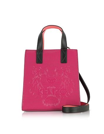 Kenzo - Deep Fuschia Mini Tiger Tote Bag