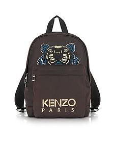 Бордовый Рюкзак Среднего Размера из Ткани - Kenzo