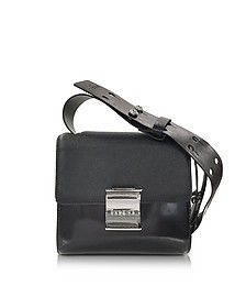Black Embossed Leather Small Shoulder Bag - Kenzo