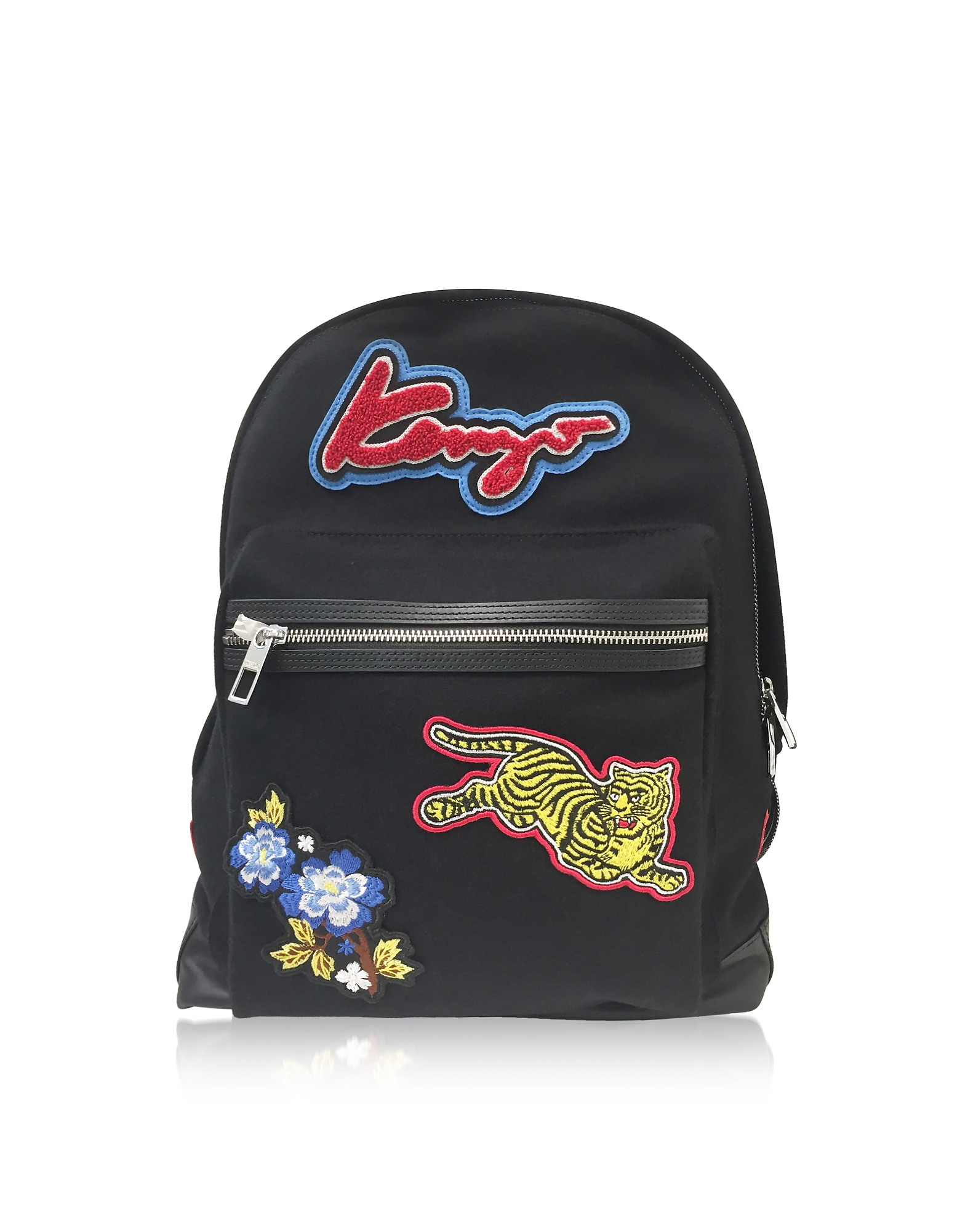 PATCHES NYLON BACKPACK