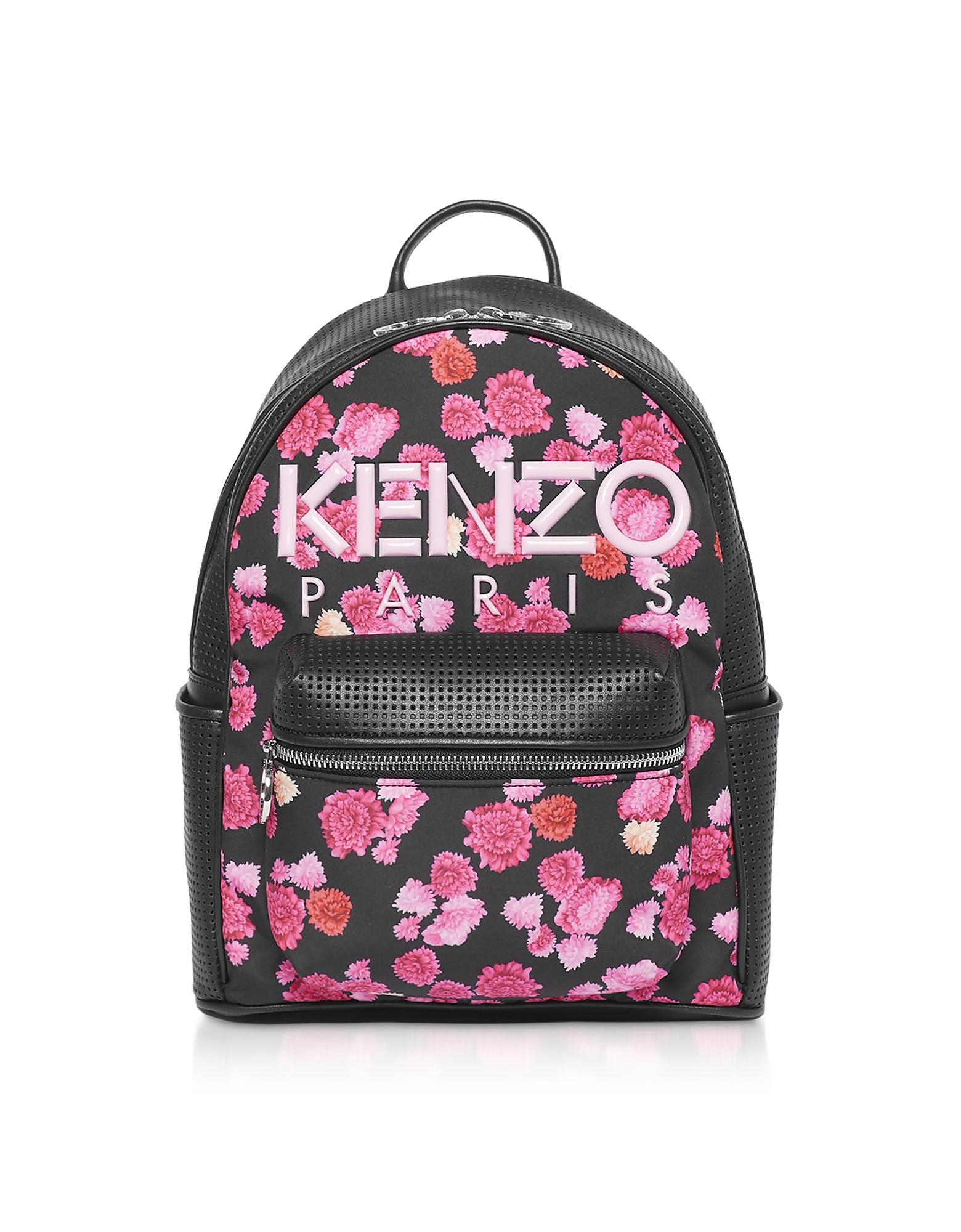 Kenzo  Handbags Kenzo Begonia Rose Backpack