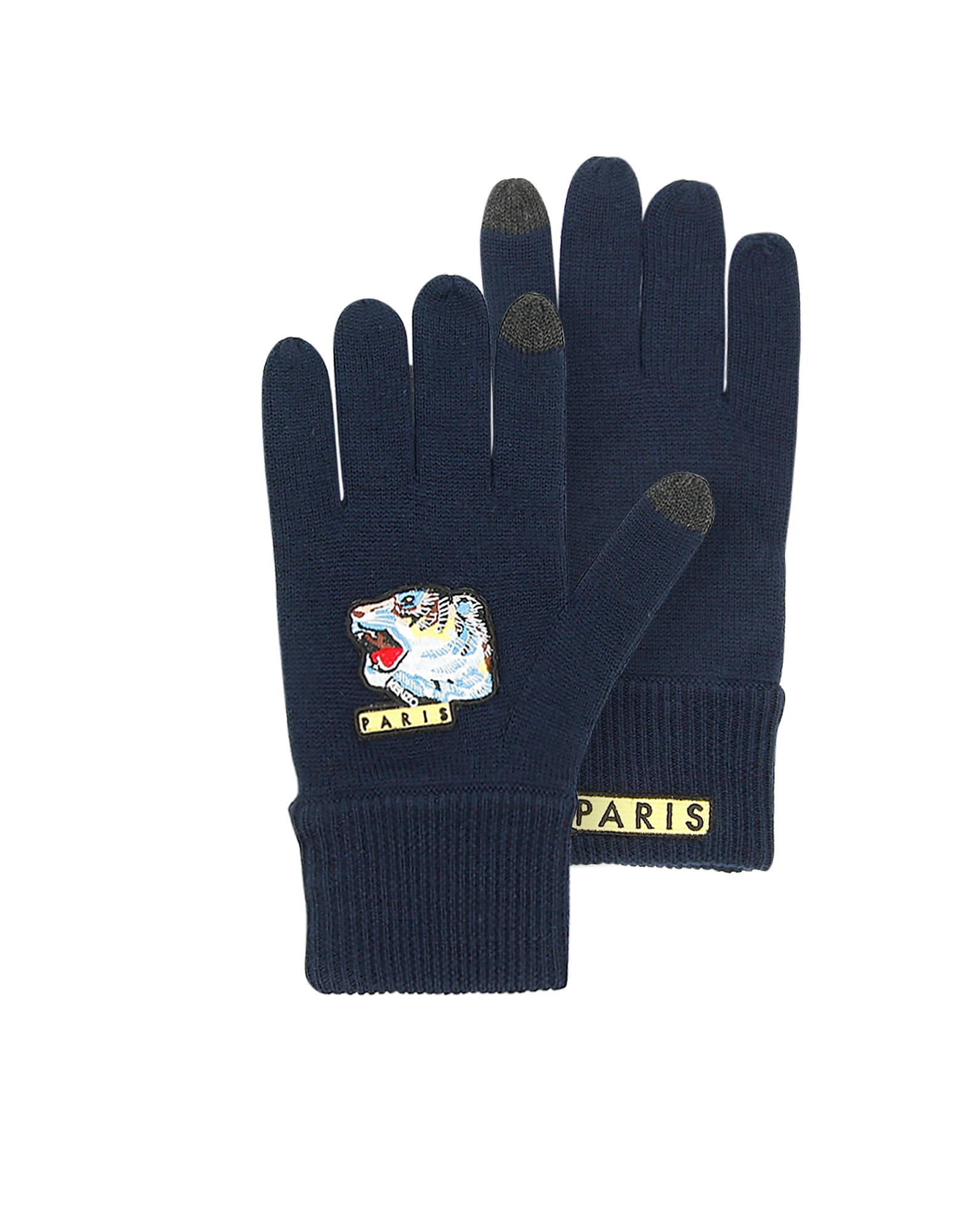 Kenzo Iconic Tiger Wool Men's Gloves