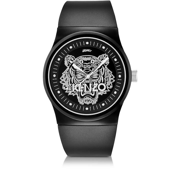 Black Large Tiger Watch - Kenzo