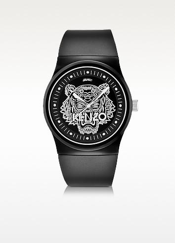 Black Large Tiger Watch - Kenzo
