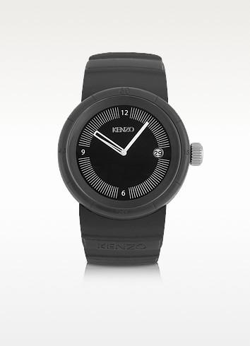 Honolulu - Black Silicone Watch - Kenzo