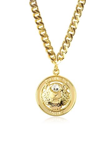 Kenzo - Gilt Tiger Cyclop Necklace