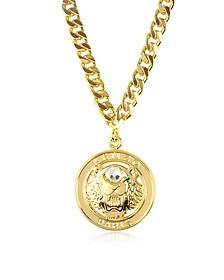 Gilt Tiger Cyclop Necklace - Kenzo